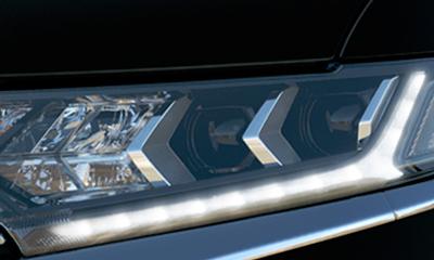 LED-es nappali menetfény