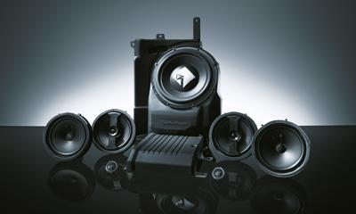 ROCKFORD FOSGATE® Prémium hangrendszer