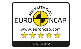 EURO NCAP 5 csillag