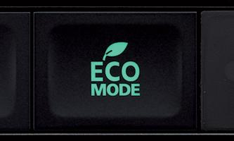 ECO üzemmód a takarékosság érdekében