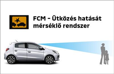 Ütközésmegelőző rendszer (FCM)
