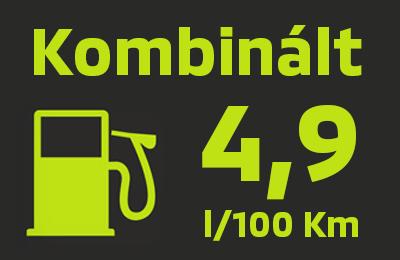 Csekély üzemanyag-fogyasztás