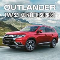 Outlander modellek akciós áron a készlet erejéig!