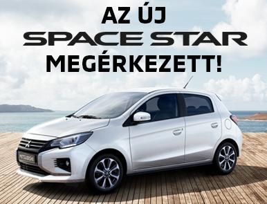 Az új Space Star megérkezett!